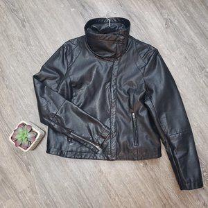 Attitude Faux Leather Biker Style Jacket 16